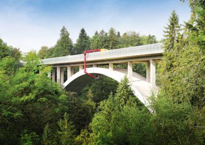 Bauwerksprüfungen 2016 Argentobelbrücke
