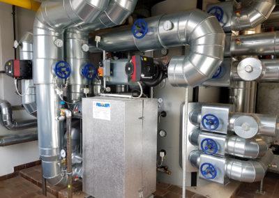 Hydraulische und elektrotechnische Optimierung der Fernwärmeversorgung