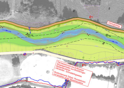 Vils erleben in Hahnbach: Ökologischer Ausbau der Vils im Ortsbereich von Hahnbach