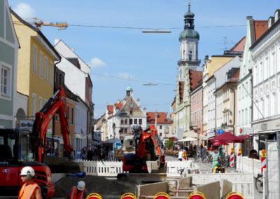 Stadt Freising –   Auf dem Weg zu neuem Glanz