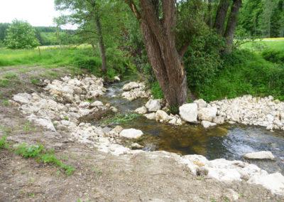 Ökologischer Gewässerausbau der Laugna bei Welden