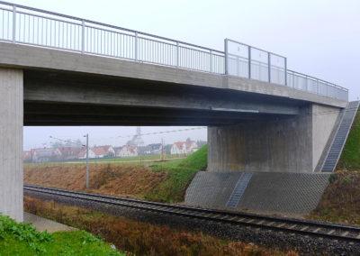 Ersatz der Bahnübergänge durch eine Straßenüberführung in Tapfheim – Landschaftspflegerischer Ausführungsplan