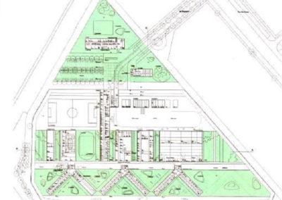 Neubau der Justizvollzugsanstalt Augsburg in Gablingen – Erschließung