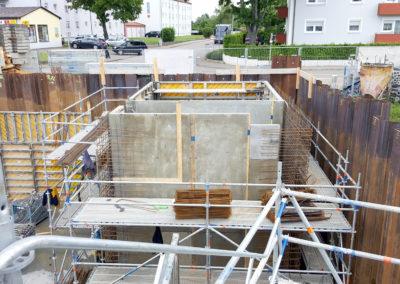Stadtwerke Nördlingen – Neubau Regenrückhaltebecken 17 Wemdinger Straße
