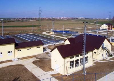 Kläranlage Sibiu, Rumänien, 205.000 EW