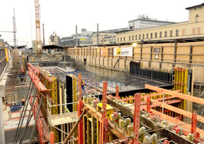 Mobilitätsdrehscheibe Augsburg – Vermessungsarbeiten für den neuen Hauptbahnhof