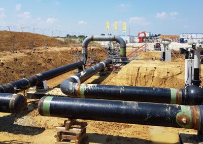 Gasverdichterstation Prettelshofen/Wertingen – Bauvermessung und Qualitätssicherung