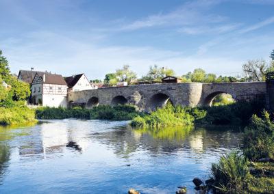 Stadt Harburg – Sanierung der Steinernen Brücke über die Wörnitz