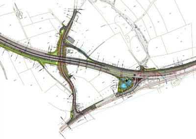 Stadt Herzogenaurach – Ausbau der Städtischen Entlastungsstraße Nord (BA3)  zwischen der ERH 25 und dem Knoten Neuses (St 2244)